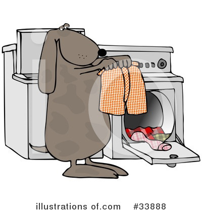 Washing Machine Clipart #33888 by djart