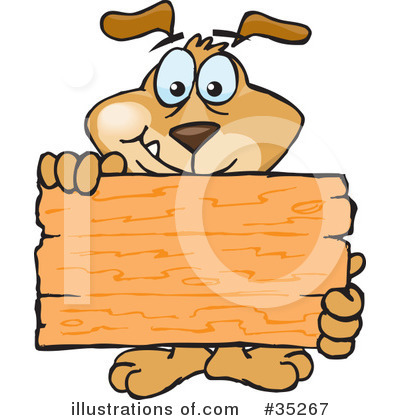 Wooden Sign Clipart #35267 by Dennis Holmes Designs