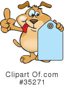 Dog Clipart #35271 by Dennis Holmes Designs