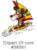 Royalty-Free (RF) Dog Clipart Illustration #38391
