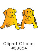 Dog Clipart #39854 by Snowy