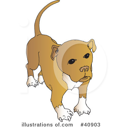 Dog Clipart #40903 by Snowy