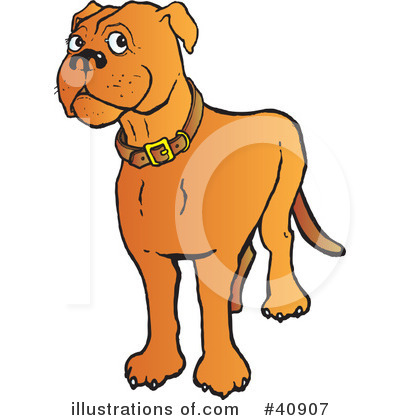 Dog Clipart #40907 by Snowy