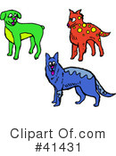 Dog Clipart #41431