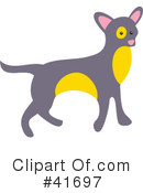 Royalty-Free (RF) Dog Clipart Illustration #41697