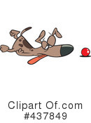 Dog Clipart #437849 by toonaday