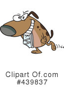 Royalty-Free (RF) Dog Clipart Illustration #439837