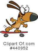 Dog Clipart #440952 by toonaday