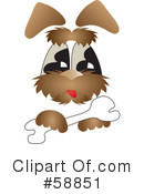 Royalty-Free (RF) Dog Clipart Illustration #58851