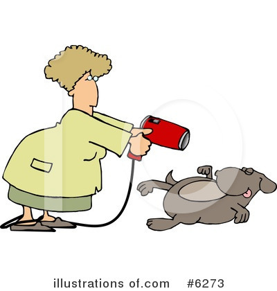 Royalty-Free (RF) Dog Clipart Illustration by djart - Stock Sample #6273