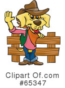 Dog Clipart #65347 by Dennis Holmes Designs