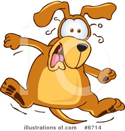 Cartoon Dog Shocked