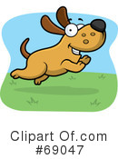 Dog Clipart #69047 by Cory Thoman