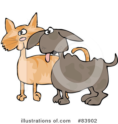 Dog And Cat Clipart #83902 by djart