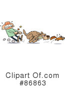 Royalty-Free (RF) Dog Clipart Illustration #86863
