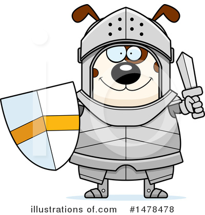 Knight Clipart #1478478 by Cory Thoman