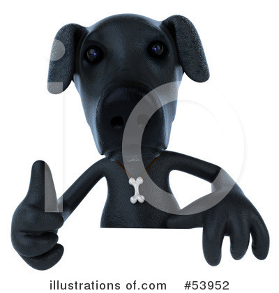 Doggy Character Clipart #53952 by Julos