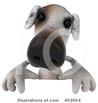 Royalty-Free (RF) Doggy Character Clipart Illustration by Julos - Stock Sample #53954