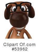 Royalty-Free (RF) doggy character Clipart Illustration #53962