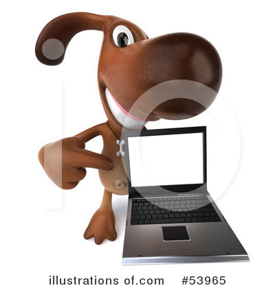 Doggy Character Clipart #53965 by Julos