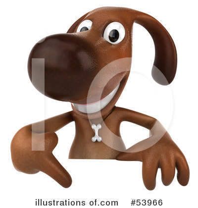 Doggy Character Clipart #53966 by Julos