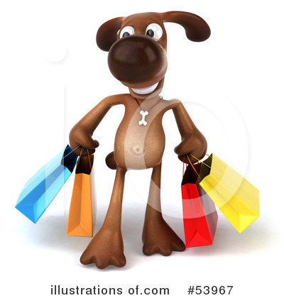 Shopping Bag Clipart #53967 by Julos