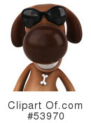 Doggy Character Clipart #53970 by Julos