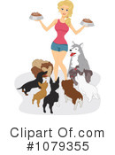 Royalty-Free (RF) dogs Clipart Illustration #1079355
