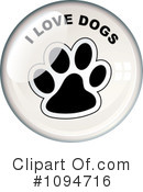 Dogs Clipart #1094716 by michaeltravers