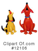 Royalty-Free (RF) Dogs Clipart Illustration #12106