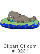 Royalty-Free (RF) Dogs Clipart Illustration #13231