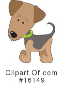 Royalty-Free (RF) Dogs Clipart Illustration #16149