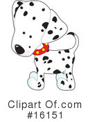 Royalty-Free (RF) Dogs Clipart Illustration #16151