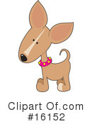 Royalty-Free (RF) Dogs Clipart Illustration #16152