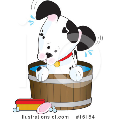 Puppy Clipart #16154 by Maria Bell