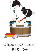 Dogs Clipart #16154 by Maria Bell