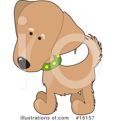Puppy Clipart #16157 by Maria Bell