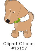 Royalty-Free (RF) Dogs Clipart Illustration #16157