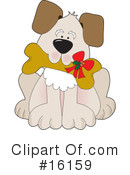 Royalty-Free (RF) Dogs Clipart Illustration #16159