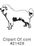 Royalty-Free (RF) Dogs Clipart Illustration #21428