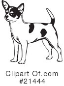 Royalty-Free (RF) Dogs Clipart Illustration #21444