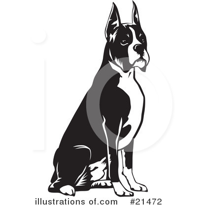 Royalty-Free (RF) Dogs Clipart Illustration by David Rey - Stock Sample #21472