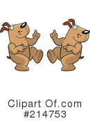 Dogs Clipart #214753 by Cory Thoman
