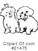 Dogs Clipart #21475 by David Rey