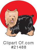 Royalty-Free (RF) Dogs Clipart Illustration #21488