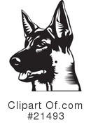 Dogs Clipart #21493 by David Rey