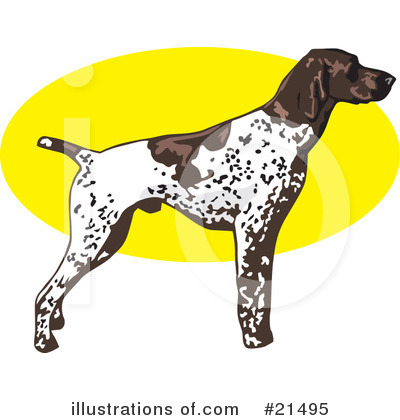 Pointer Dog Clipart #21495 by David Rey