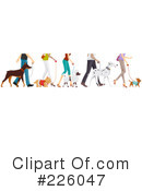 Royalty-Free (RF) Dogs Clipart Illustration #226047