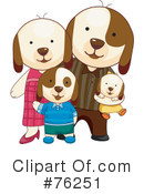Dogs Clipart #76251 by BNP Design Studio