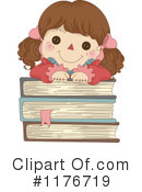 Royalty-Free (RF) Doll Clipart Illustration #1176719